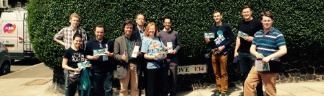 Campaigning with Peter Gold in Tower Hamlets